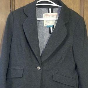 NWT Grey Anthropolgie blazer